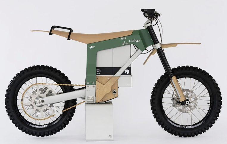 Screenshot image of Cake Kalk anit-poaching bush bike.